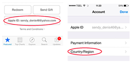 how to change country on itunes with a balance