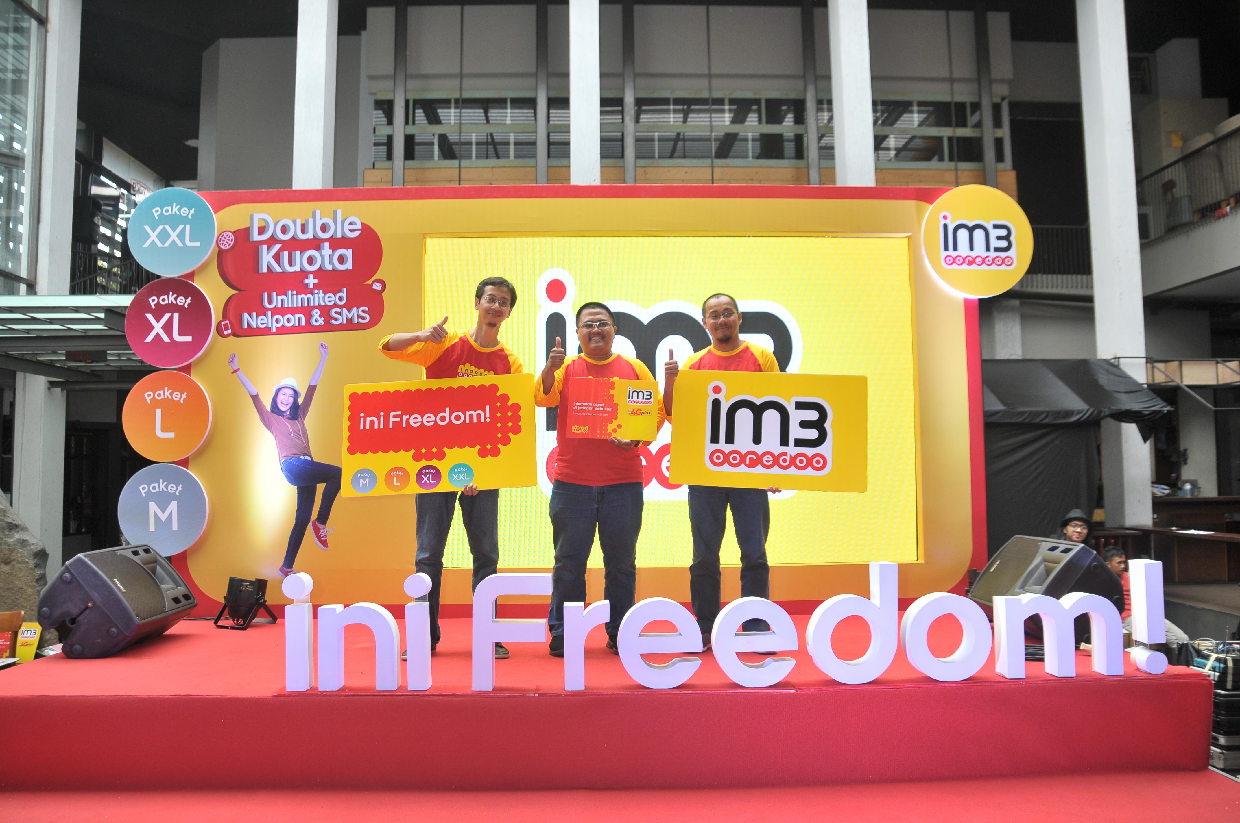 Paket Im3 Ooredoo Freedom Yang Bebas Sebebas Bebasnya Kuota